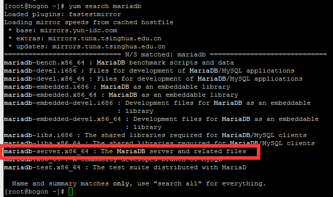 Centos7.3 Mariadb 数据库导出、导入命令-Mr.Li's Blog